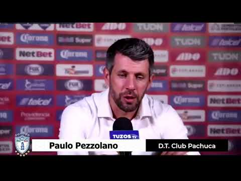 Pachuca 0 - 1 Pumas │ Paulo Pezzolano │ D.T. Club Pachuca │ Conferencia de Prensa │ 4TOS DE FINAL