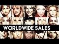 Britney Spears Worldwide Singles and Album Sales