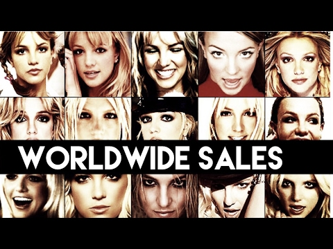 Britney Spears Worldwide Singles and Album Sales