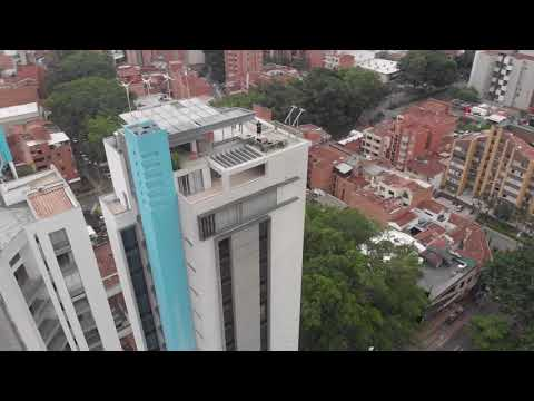 Medellin From The Air - Inntu Hotel Roof