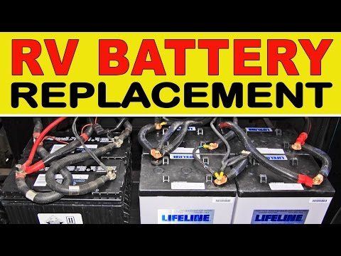 solar panel wiring diagram for rv pt100 how to replace your house batteries with the agm type