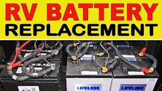 "How To Replace Deep Cycle RV ""House"" Batteries Thumbnail"