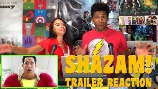 SHAZAM! Trailer Reaction