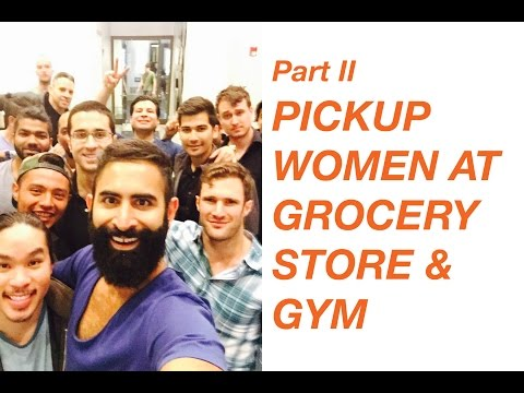 How to Pickup Women at the Gym & Grocery Store #DocTLive Episode 2