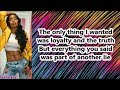 Tink - Breakin Me (Lyrics)