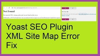 Yoast SEO XML Sitemap Generation Error Solved with easy steps
