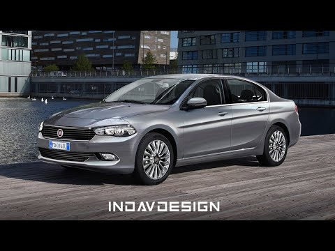 Fiat Croma 2017 Render Layer By Layer Indav Design