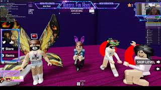Speed Run 4 & Would You Rather-Jab & Ashley are live with Burgess Fun House on Roblox