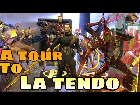TOUR: La Tendo Toy Shop In Suntec City Mall, Singapore