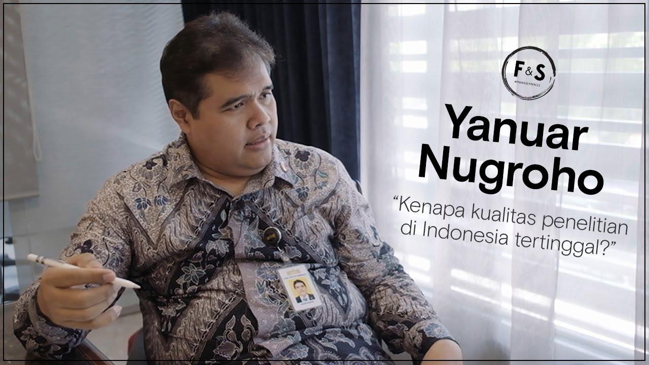"""""""Kenapa kualitas penelitian Indonesia tertinggal?"""" - On Scientific Temper"""