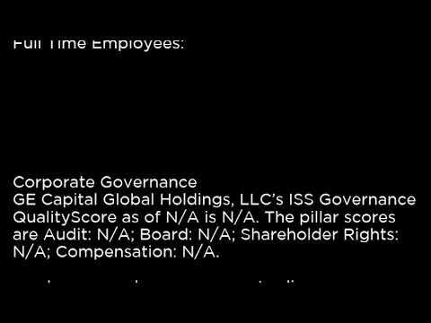 GEK - GE Capital Global Holdings, LLC GEK buy or sell Buffett read basic