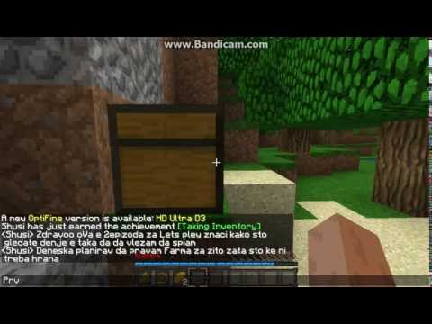 Minecraft Let's Play 2ep# SO *Macedonia Gaming*