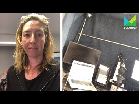 Molly Wood's Broadcast from Home setup | Marketplace
