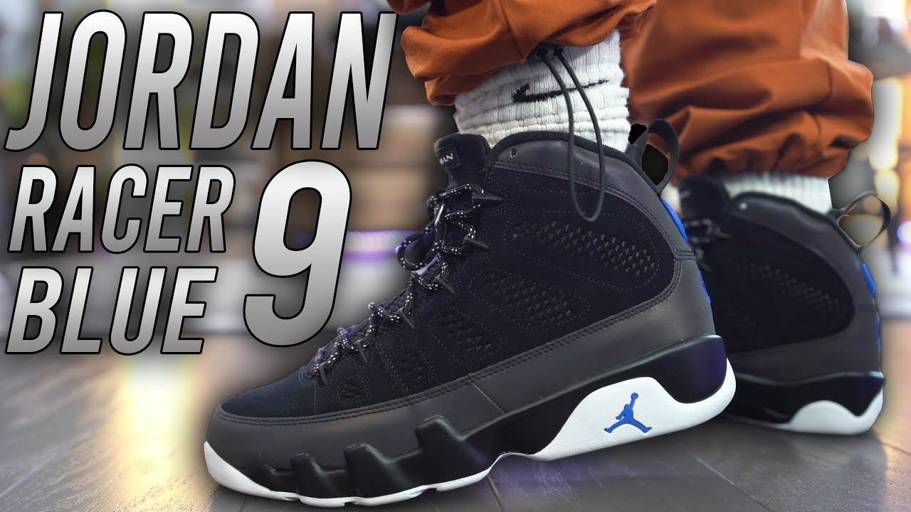AIR JORDAN 9 RACER BLUE REVIEW AND ON