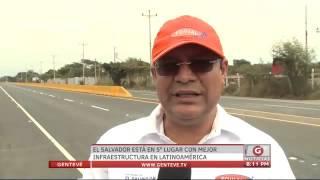 gentev noticias el salvador en 5 lugar con mejor infraestructura en latinoamrica