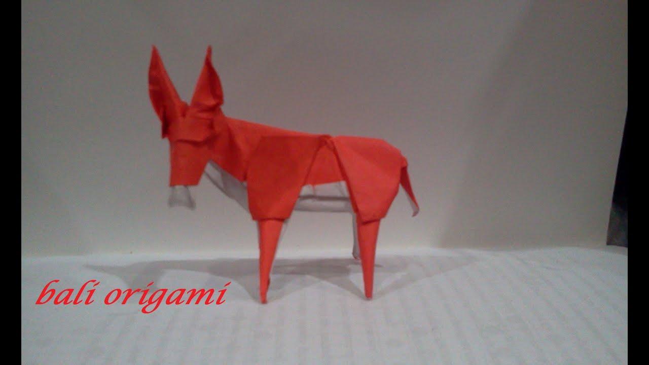 Origami Donkey (Roman Diaz) - YouTube - photo#32