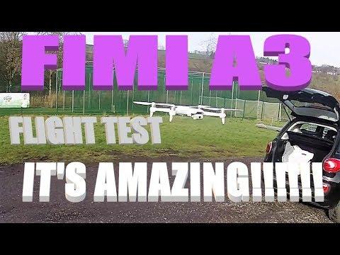 XIAOMI FIMI A3 FLIGHT TEST