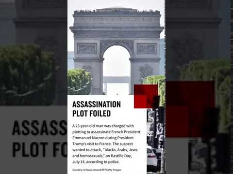 Assassination attempt on French president