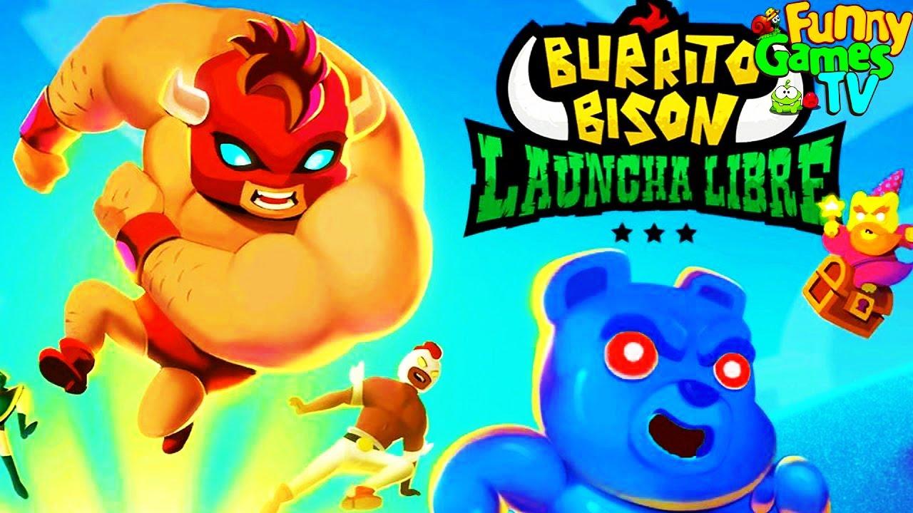 Новая серия про Желейных Ми Ми Мишек мультик Игра для детей Прикольное и Смешное видео Burrito Bison