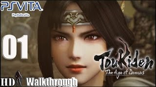 Toukiden The Age of Demons - Walkthrough Gameplay Part 1 - HD 720p English PS Vita No Commentary