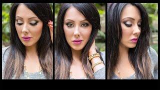 White Smoke & Purple Lips | Makeup Geek