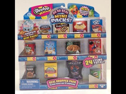 Shopkins Oh So Real Mini Pack #2