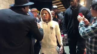 Floyd mayweather Gervonta davis Seconds After Win