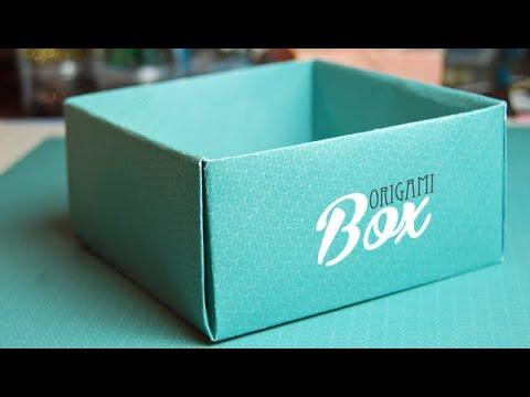 DIY : Origami Box