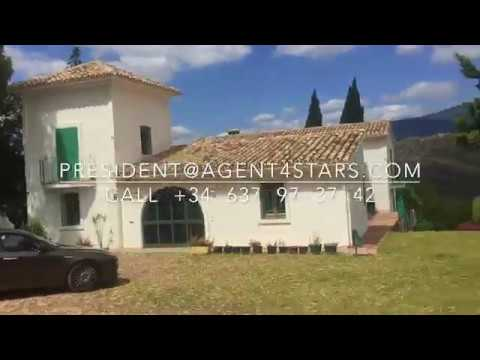 Finca behind Puerto Banus with +40.000m2 plot  for sale