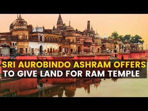 ayodhya-case:-sri-aurobindo-ashram-offers-to-give-land-for-ram-temple-|newsx