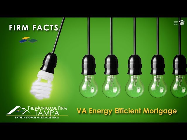 Firm Facts ✅: Did You Know? | VA Energy Efficient Mortgage 💚🌏