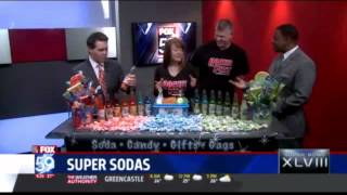Rocket Fizz Indianapolis on Fox 59