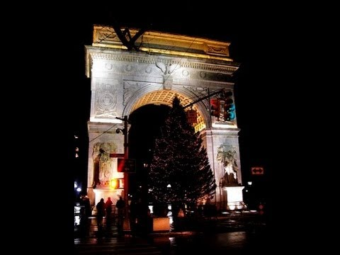 New York City - Washington Square at Manhattan - Tourism USA