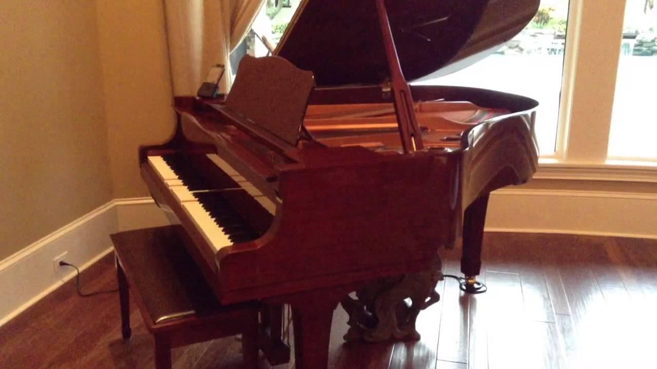 Yamaha Baby Grand Piano Disklavier Dc2m4 Mark Iv Series