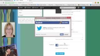 видео twitter facebook