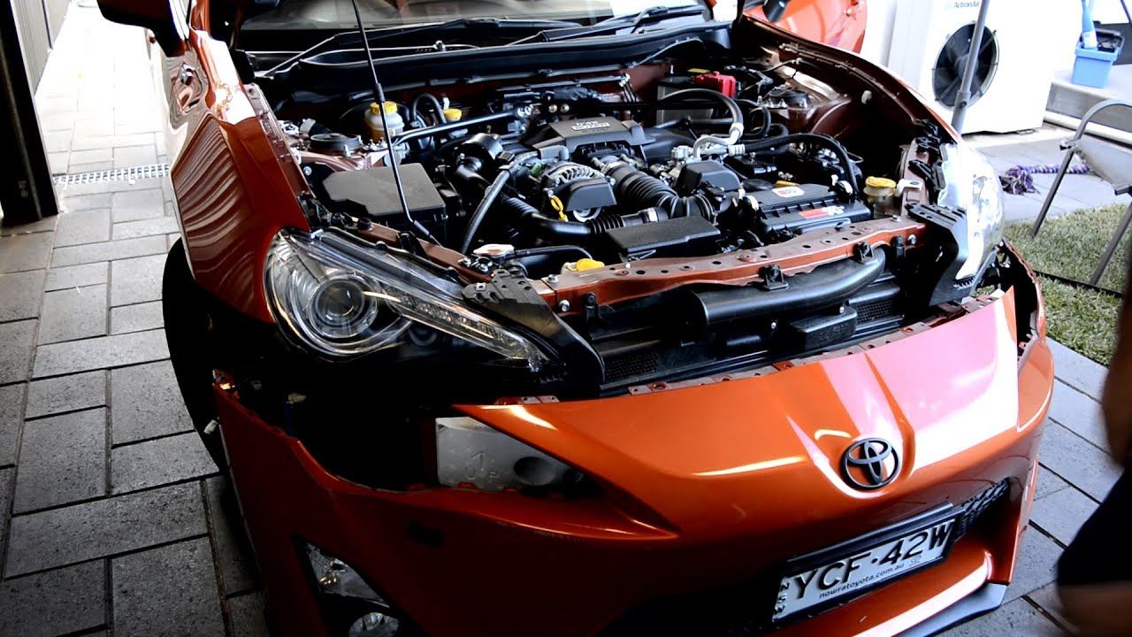 How To Modify Air Intake Snorkel Toyota 86 Gt86 Frs Brz
