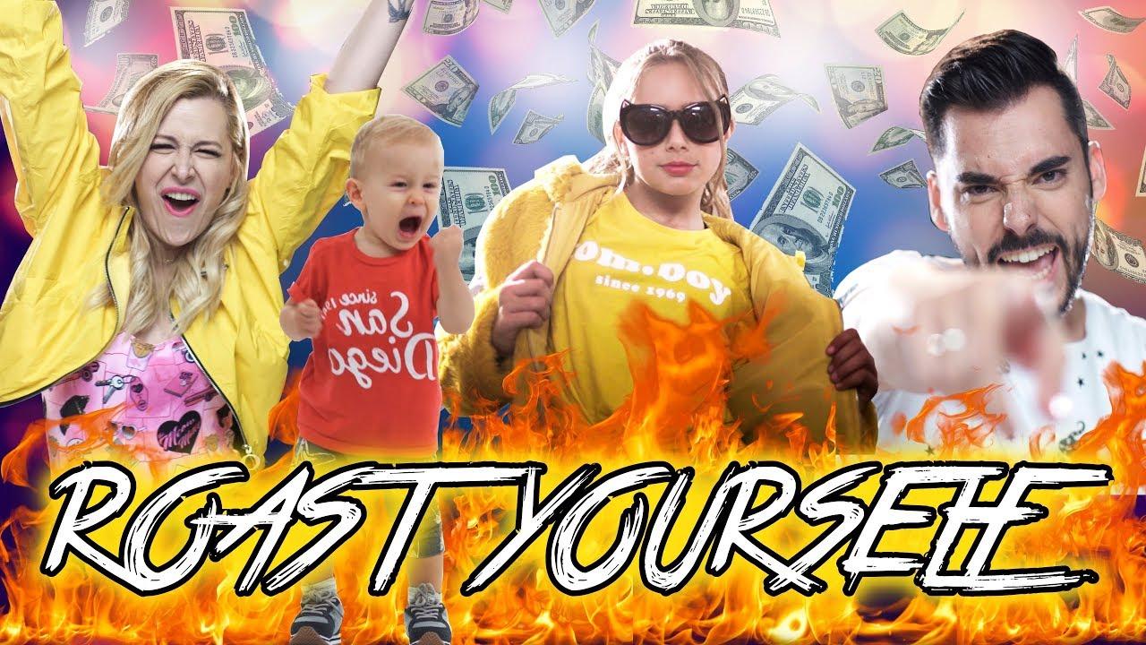 ROAST YOURSELF CHALLENGE 🔥Familia Carameluchi YouTube