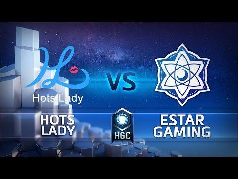 HGC China - Phase 1 - Game 1 - eStar Gaming vs HotsLady