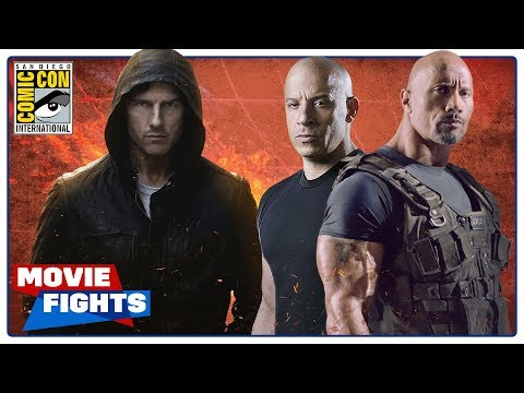 Mission: Impossible vs. Fast and the Furious  MOVIE FIGHTS SDCC 2018 Panel