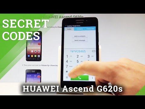 Secret Codes HUAWEI Ascend G620s - Hidden Mode / Tricks & Tips |HardReset.Info