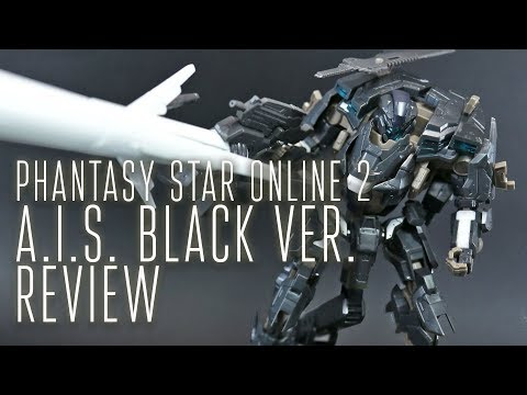 1768 - PSO2 A.I.S. Black Ver. (OOB Review)