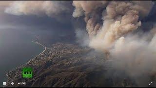 Incendio calcina miles de hectáreas en California