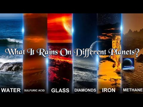What It Rains On Different Planets?  | Astronomical Facts