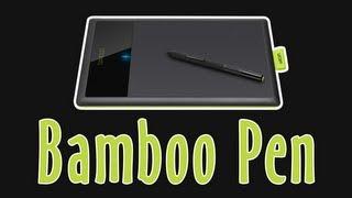 Bamboo Pen #2 - Защитная пленка. Подключение и настройка thumbnail