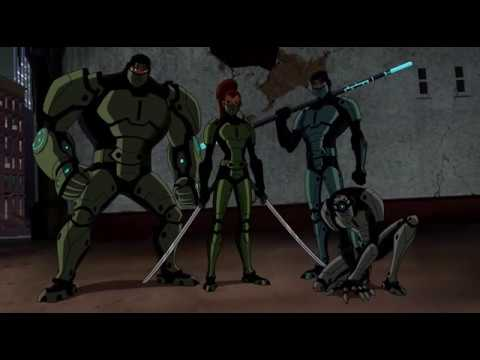 Batman & Red Hood vs Fearsome Hand of Four | Batman: Under the Red Hood