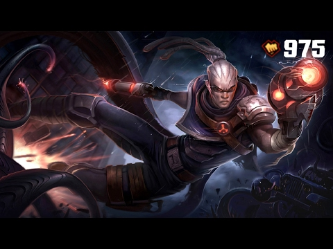 Hired Gun Lucian Skin - League of Legends