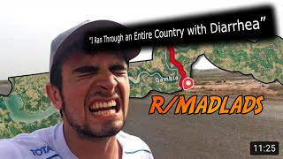 """I Ran Through an Entire Country with Diarrhea"" 