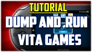 {VITAMIN 3.60} How to DUMP and RUN Vita Backups