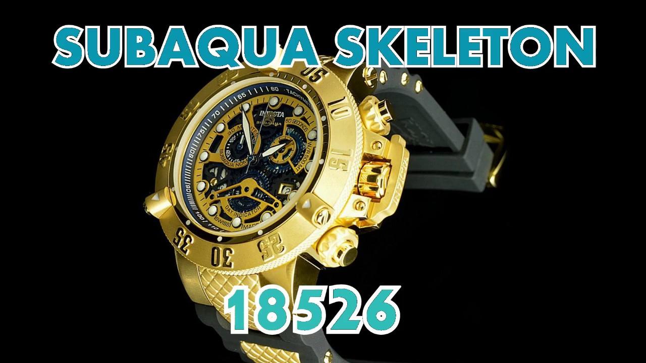 bf8738b6a46 Como ajusta data e horas e alinhar ponteiro de cronometro Subaqua Skeleton  18526. Relógios importados