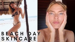 Beach Day Skin Care | Martha Hunt